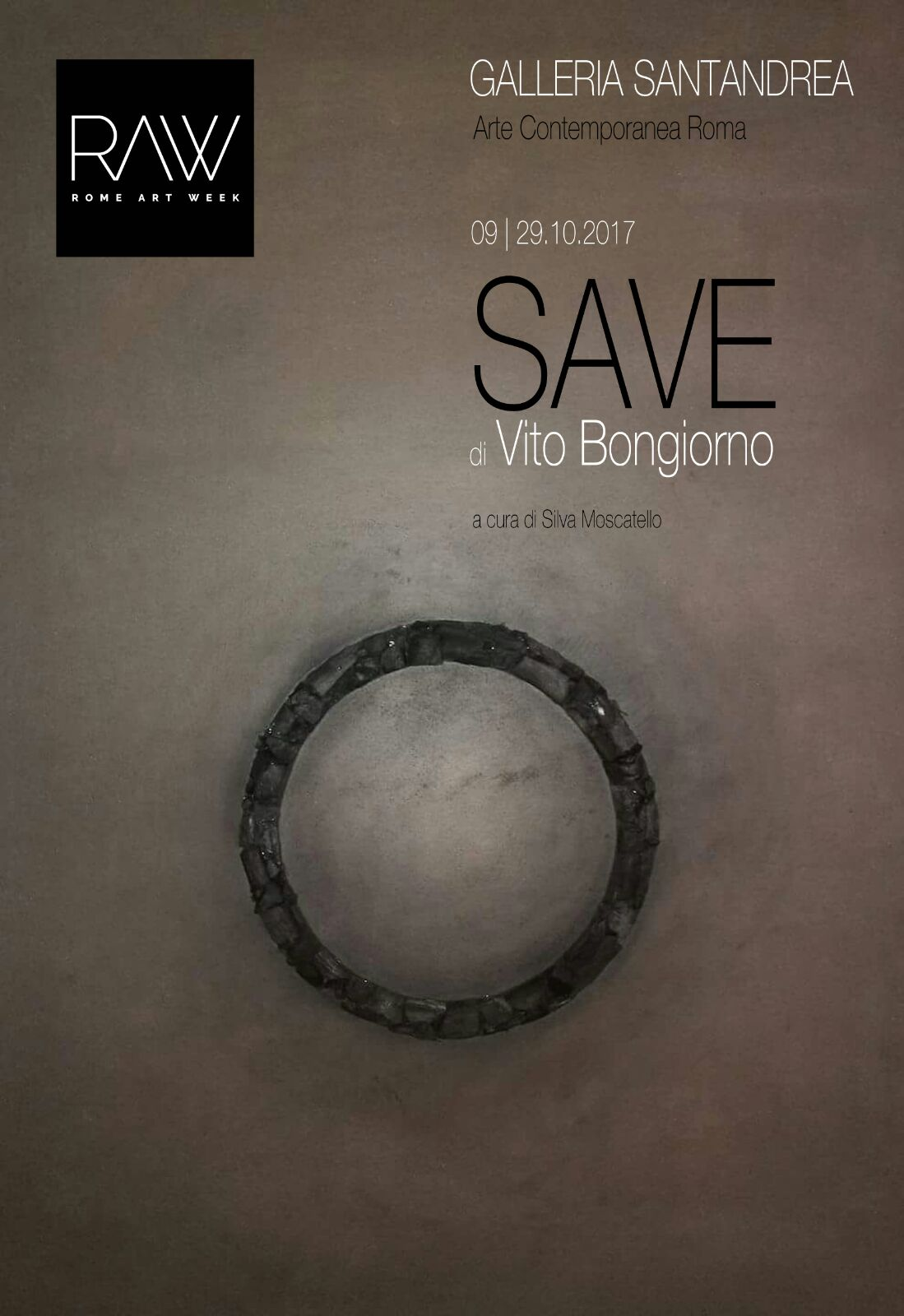 Save Vito Bongiorno Galleria Santandrea Arte Contemporanea
